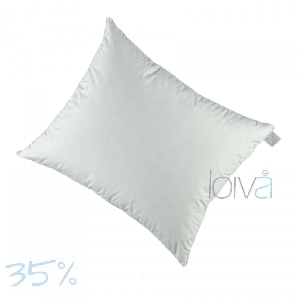 Loiva Firm Night donzen hoofdkussen 35%