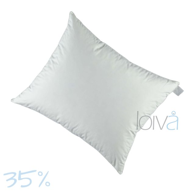 Loiva Firm Night donzen hoofdkussen 35%
